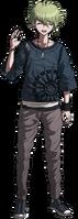 Danganronpa V3 Rantaro Amami Fullbody Sprite (9)
