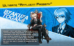 Promo Profiles - Danganronpa 1.2 (English) - Byakuya Togami