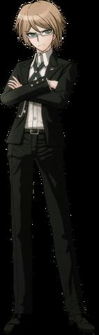 File:Byakuya Togami Fullbody Sprite (2).png