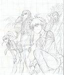Danganronpa 3 - Lerche Twitter Sketches - Future Arc Group 2