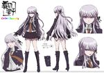 Danganronpa The Animation Design Profile Kyoko Kirigiri