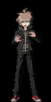 Makoto Naegi Fullbody Sprite 19