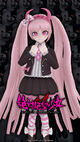 Monokuma Factory Wallpapers Set 5E Kotoko Utsugi 720 x 1280