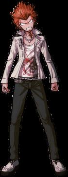 Danganronpa 1 Leon Kuwata Fullbody Sprite (PSP) (6)