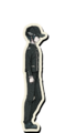 Danganronpa V3 Shuichi Saihara Death Road of Despair Sprite (Hat) 01
