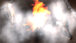Danganronpa 1 CG - Mukuro Ikusaba's booby trapped corpse explosion (2)