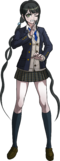 Danganronpa V3 Tenko Chabashira Fullbody Sprite (High School Uniform) (2)