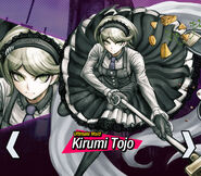 Kirumi Tojo Toujou Danganronpa V3 Official English Website Profile (Mobile)