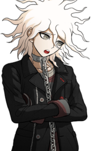 Nagito Komaeda The Servant Halfbody Sprite (3)