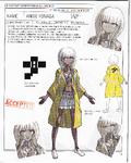 Danganronpa V3 - Day One Dossier Art Booklet - Angie Yonaga
