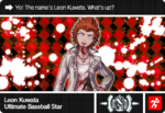 Danganronpa V3 Bonus Mode Card Leon Kuwata N ENG