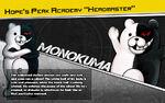 Promo Profiles - Danganronpa 1.2 (English) - Monokuma