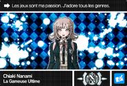 Danganronpa V3 Bonus Mode Card Chiaki Nanami N FR
