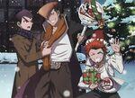 Otomedia December 2013 - DRtA - Kiyotaka Ishimaru Mondo Owada Leon Kuwata (Poster)