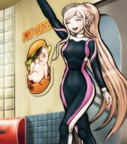 Sonia en traje de baño