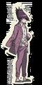 Danganronpa V3 Kaito Momota Death Road of Despair Sprite 01