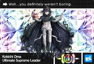 Danganronpa V3 Bonus Mode Card Kokichi Oma U ENG