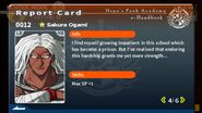 Sakura Ogami Report Card Page 4