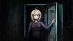Danganronpa V3 CG - Pre-Game Kaede Akamatsu exiting the locker (2)