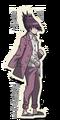 Danganronpa V3 Kaito Momota Death Road of Despair Sprite 02