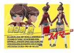 Promo Profiles - Danganronpa the Animation (Japanese) - Aoi Asahina