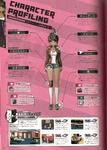 Danganronpa 1 Aoi Asahina Character Design Profile Danganronpa 1.2 Art Book