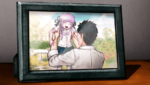 Danganronpa 1 CG - Photo of a young Kyoko Kirigiri and Jin Kirigiri