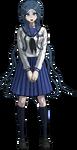 Danganronpa V3 Tsumugi Shirogane Fullbody Sprite (High School Uniform) (4)