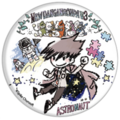 GraffArt Can Badge Kaito Momota