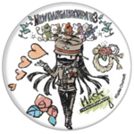 GraffArt Can Badge Korekiyo Shinguji