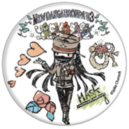 GraffArt Can Badge Korekiyo Shinguji