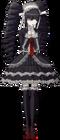 Danganronpa 1 Celestia Ludenberg Fullbody Sprite (PSP) (5)