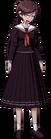 Danganronpa 1 Toko Fukawa Full Body Sprite (PSP) (14)
