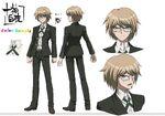 Danganronpa The Animation Design Profile Byakuya Togami