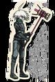 Danganronpa V3 K1-B0 Death Road of Despair Sprite (Hammer) 01