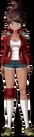 Danganronpa 1 Aoi Asahina Fullbody Sprite (PSP) (12)