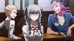 Danganronpa 2.5 - (OVA) Nagito with his classmates in Homeroom (6)