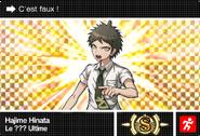 Danganronpa V3 Bonus Mode Card Hajime Hinata S FR