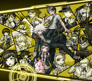 Digital MonoMono Machine Danganronpa 2 Cast Android wallpaper