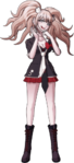 Danganronpa 1 Junko Enoshima Fullbody Sprite (PSP) (10)