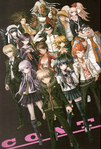 Danganronpa 1 Visual Fanbook Contents Page