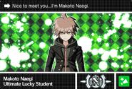 Danganronpa V3 Bonus Mode Card Makoto Naegi N ENG