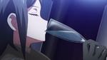Despair Arc Episode 5 - Mukuro drinking from a glass