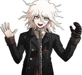 Nagito Komaeda The Servant Halfbody Sprite (5)