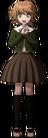 Danganronpa 1 Chihiro Fujisaki Fullbody Sprite (PSP) (7)