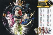 Danganronpa Magazine Calendar 02