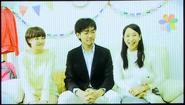 Danganronpa THE STAGE 2014 - Makoto Naegi's family in his motive video