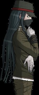 Danganronpa V3 Korekiyo Shinguji Halfbody Sprite (Debate Scrum) (1)
