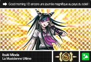 Danganronpa V3 Bonus Mode Card Ibuki Mioda S FR