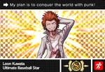 Danganronpa V3 Bonus Mode Card Leon Kuwata S ENG